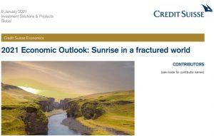 CreditSuisse: Pandangan Ekonomi 2021